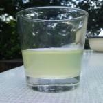 limonadesiroop met te veel water