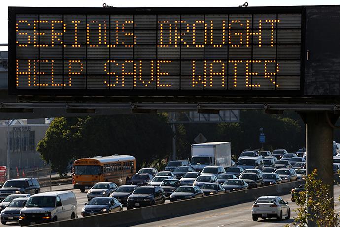 California drought emergency