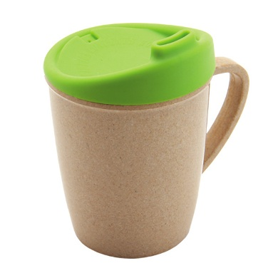 Munch Eco Hero Rice Husk Sippy Cup Lizard
