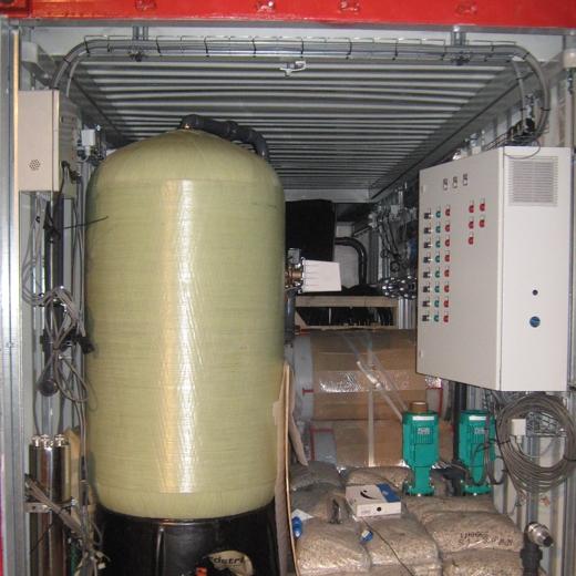 Station de potabilisation en conteneur