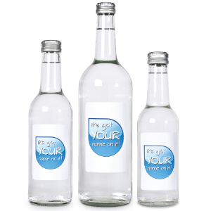 Promotional Glass Bottled Water