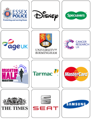 Logos of some of the companies we work with