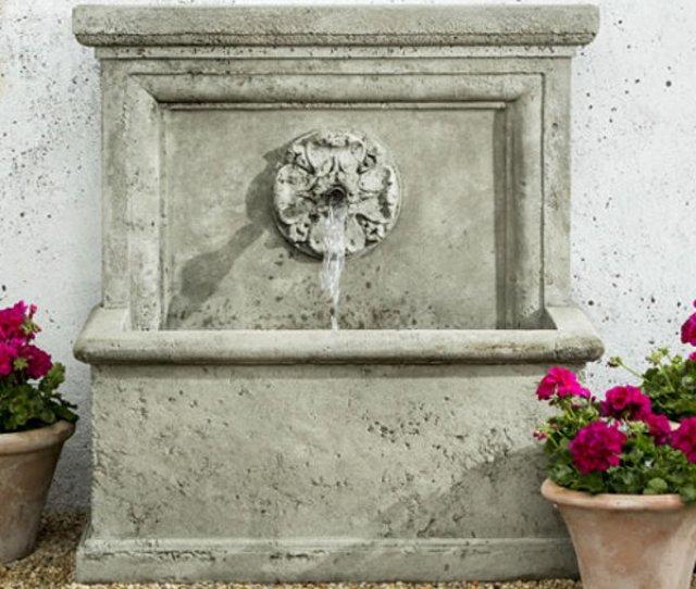 Ft  St Aubin Fountain