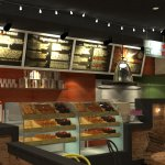 Design Build Pitfire Pizza Restaurant Interior Fitout Works Alargan Village Watercolor Interiors Middle East Wll