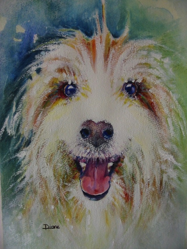 Doggone - watercolour art classes