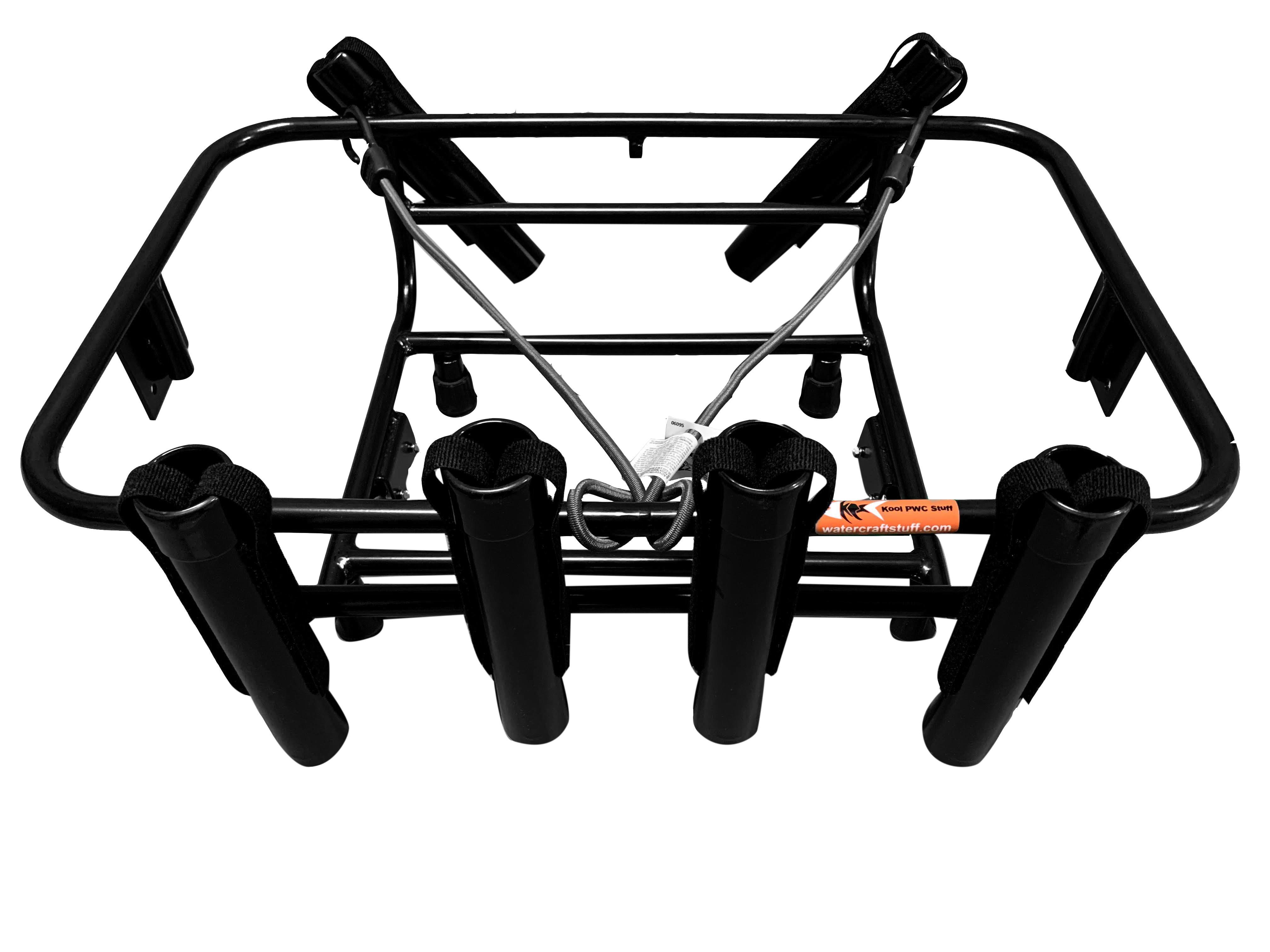 jet ski fishing rack 6 rod holder for sea doo kool pwc stuff