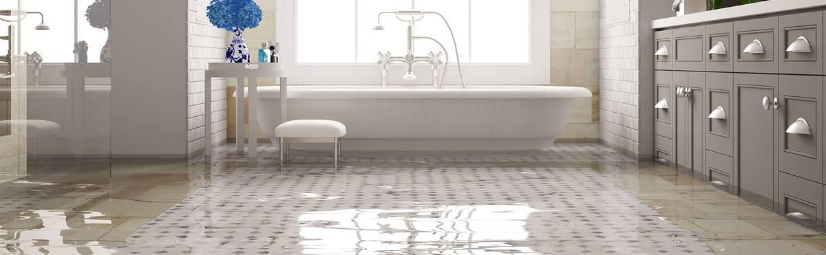 bathtub overflow overflowed bathtub