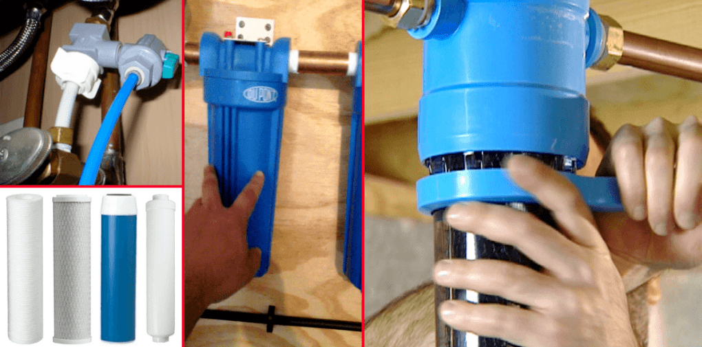 how to change water filter