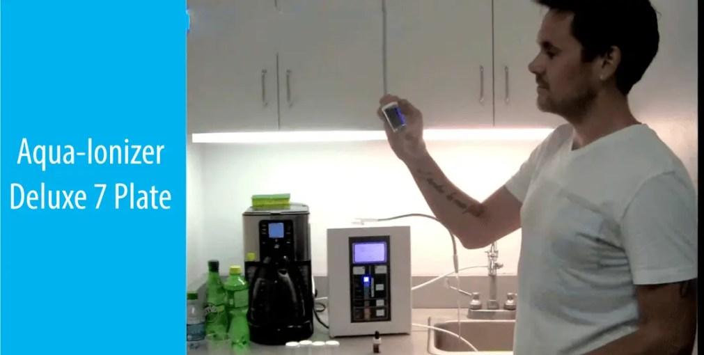 aqua ionizer deluxe review