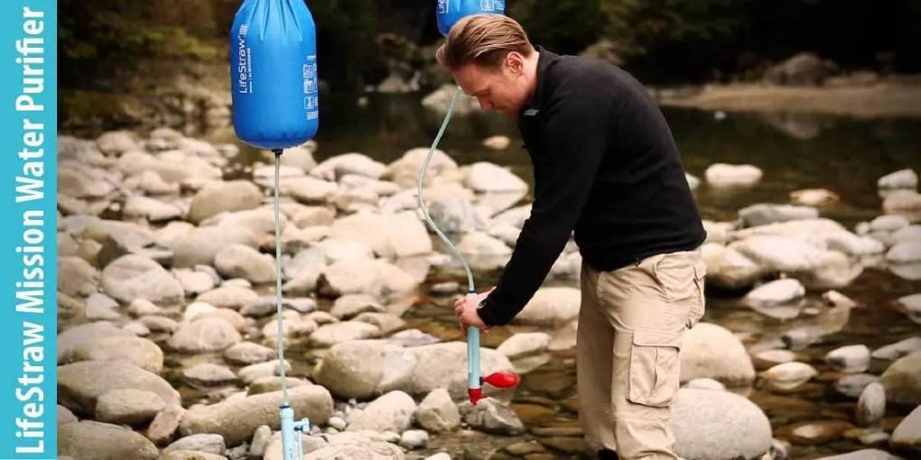 LifeStraw Mission Water Purification