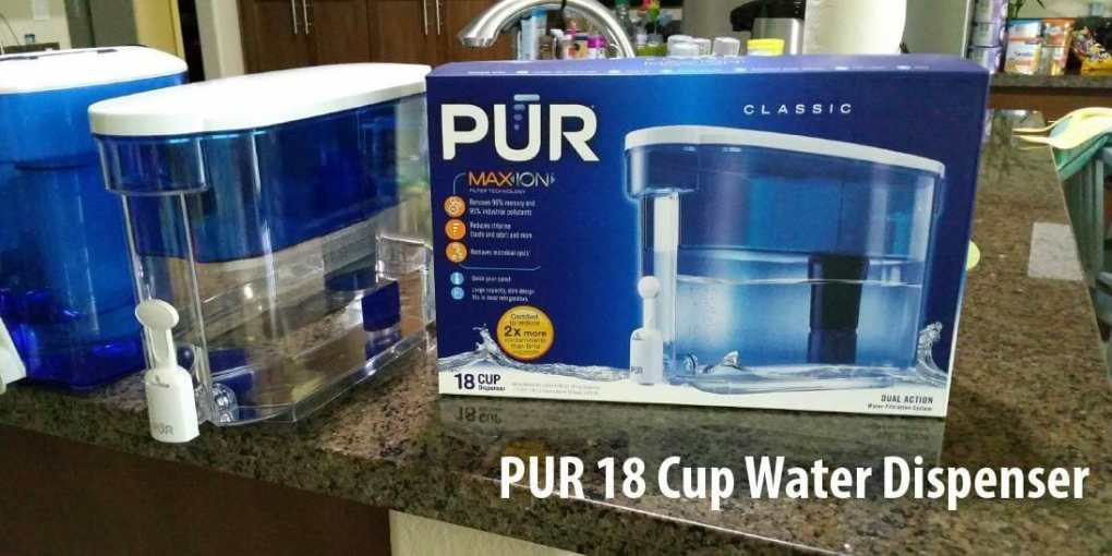 PUR 18 Cup Water Dispenser