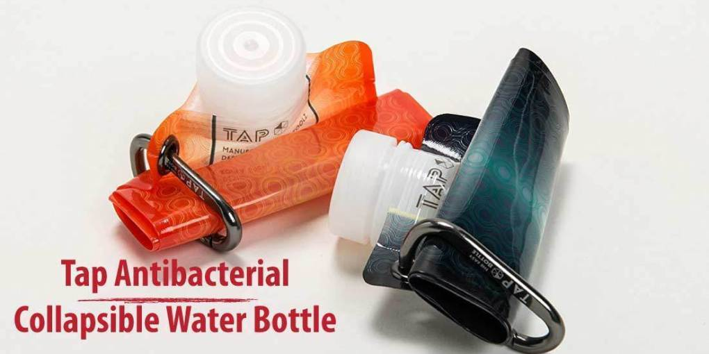Tap Antibacterial Collapsible Water Bottle