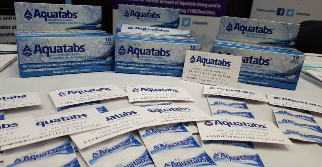 what are the advantages of using potable aqua tablets