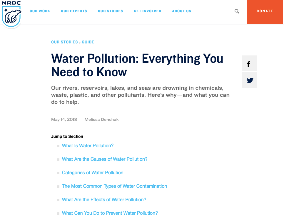 water polution everything you need to know