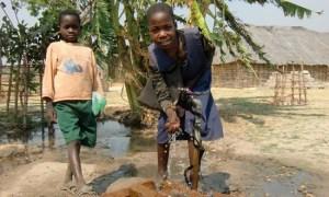 kids using tap