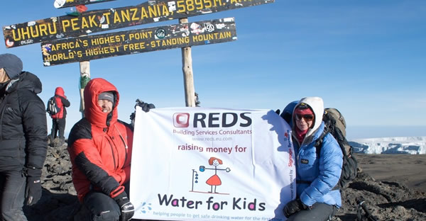 Red Cats support Water for Kids