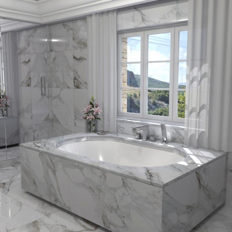 baignoire debordement haut de gamme