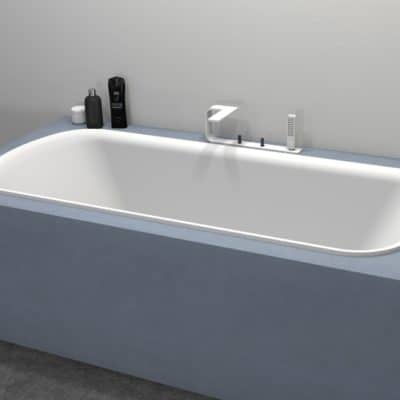 baignoire ovale encastrable baignoire