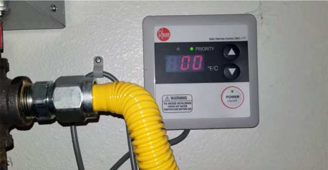 rheem tankless error code troubleshooting  water heater hub