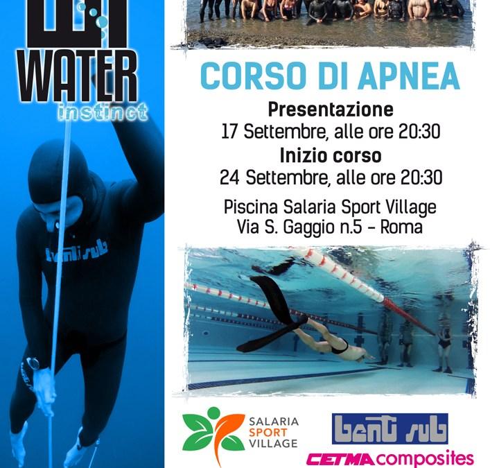 Corso Apnea Academy Open Roma 24 settembre 2018