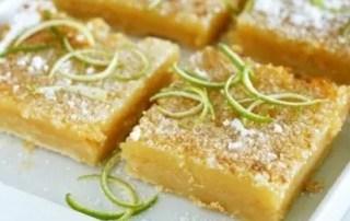 Key Lime Dessert Squares