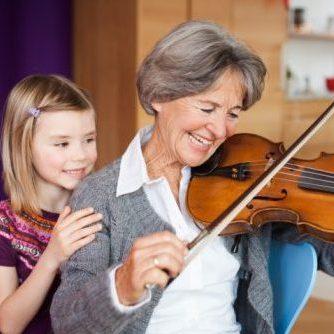 Adopt-A-Grandparent