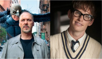 This year's closest race is between Michael Keaton and Eddie Redmayne.