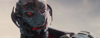 Ultron (voiced by James Spader) isn't a very compelling villian at all.