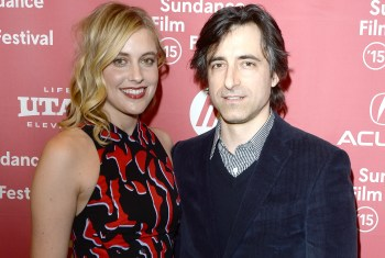 Greta Gerwig and director Noah Baumbach wrote the stilted script together.