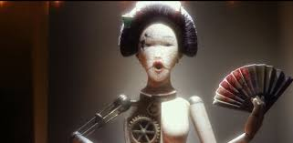 A lot of the odd tangents in the film never get explained, like this doll - they remain metaphor.