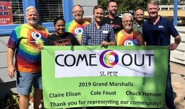 Come OUT St. Pete announces 2019 parade grand marshals