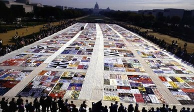 AIDS Quilt moving to San Francisco
