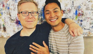 Anthony Rapp announces engagement to partner
