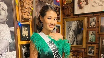 Miss Myanmar, first openly gay Miss Universe competitor, speaks up for LGBTQ acceptance
