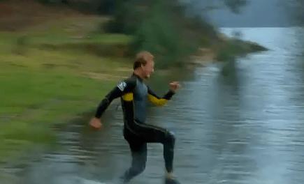 Correre sull'acqua