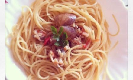 Spaghetti alle vongole veraci…versione light