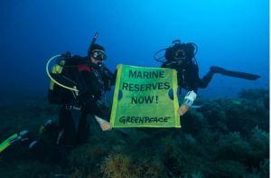 salva l'oceano Greenpeace