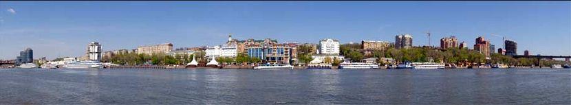 Il fiume Don e la storica Rostov