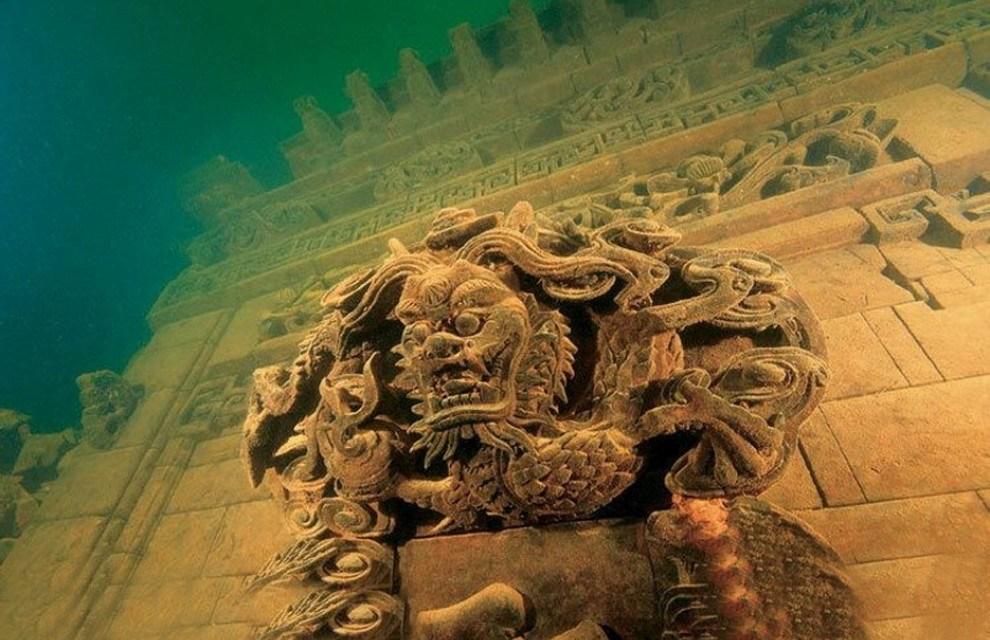 Lion City, l'antica città cinese sommersa