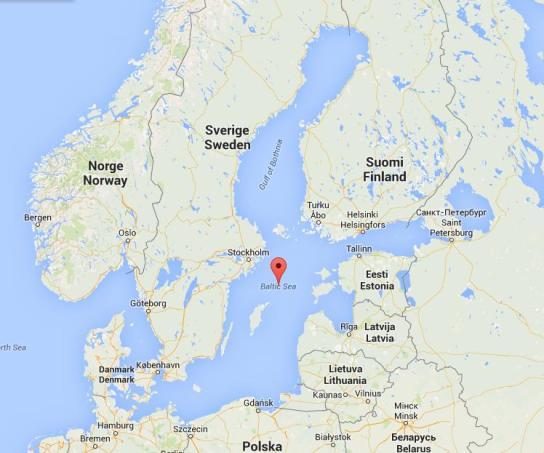 Baltico map
