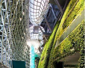 Un giardino pensile da Guinnes per Seoul: 65.000 piante, rivestono 1.500 mq. della nuova City hall