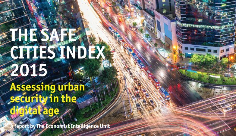 Le 50 città più sicure nel 2015. E quelle dove l'acqua e l'aria sono migliori. E' il safe index di Economist