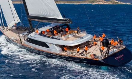 Navi da sogno. Perini navi finalista al Design Awards dell'International Superyacht Society