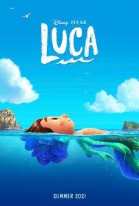 poster di Luca © Disney Pixar