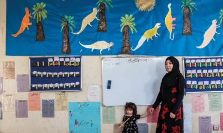 Nella scuola montessoriana di Kabul