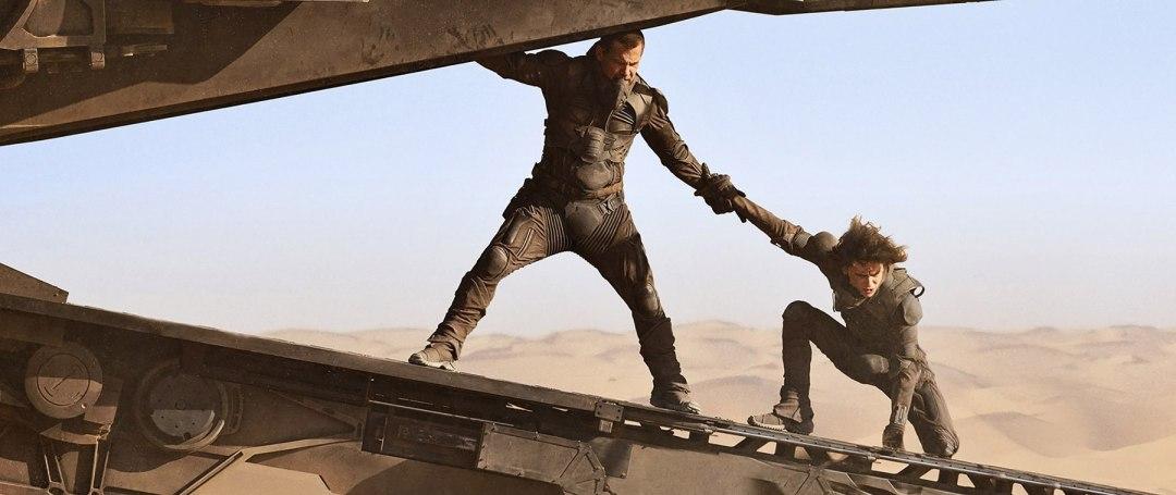 Scena da Dune di Villeneuve