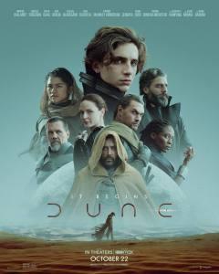 Poster di Dune, diretto da Denis Villeneuve