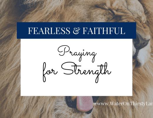 Praying for Strength