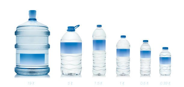 water gallon and bottle