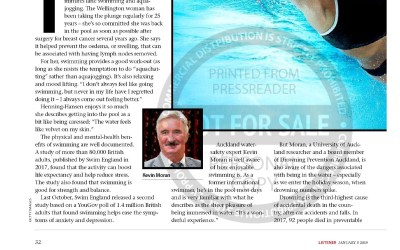 Kevin Moran in the NZ Listener Magazine